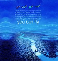 Day13: least favorite song You Can Fly.  Love Peter Pan, just not the song