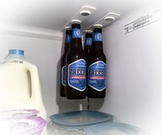 bottleLoft Magnetic Fridge Storage / TechNews24h.com