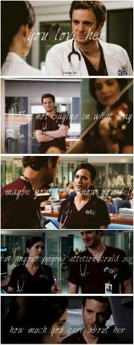 Will and Natalie #manstead #onechicago #ChicagoMed tumblr