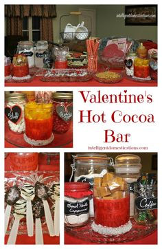 Valentine's Hot Cocoa Bar   Intelligent Domestications