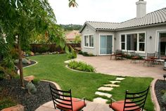 Backyard landscaping ideas on a budget can be challenging, but if you come up with the right design, you will get some advantages