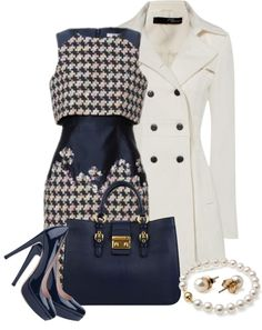 """Houndstooth"" by natasha-gayden on Polyvore"