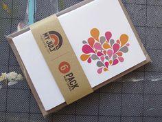 Abstract Splash Card Set (6 pack)