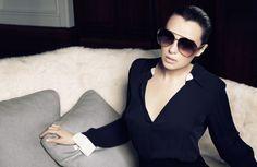 Read our Linda Farrow article on the blog - The House of Eyewear Paris www.thehouseofeyewear.com