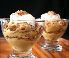 Ketogenic Diet Recipe - Pumpkin Praline Parfaits (Low Carb and Gluten Free) #ketogenicdiet #keto #lowcarb