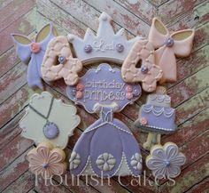 Fairytale Princess Sophia Handmade and di FlourishCookies su Etsy