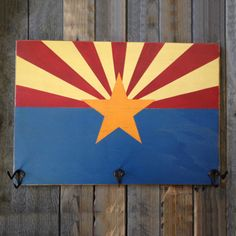Arizona Flag Hat Rack | State Traditions