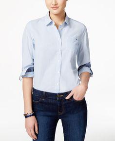 Tommy Hilfiger Button-Down Shirt, Cornell Stripe
