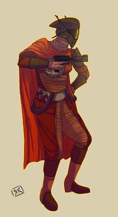 Hapan Fighter Pilot | Star Wars Artists Guild