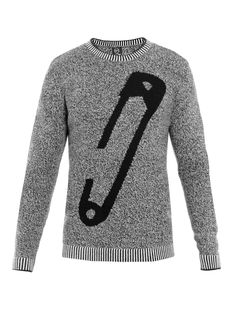 MCQ Alexander McQueen Safety Pin Sweater (I know it's men's apparel, but I want!)