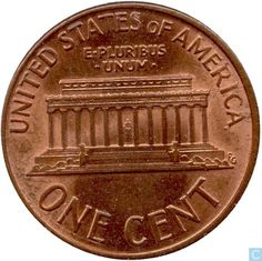 One Cent United States Coin | USA 1 cent 1989 D United States - coins - Catawiki