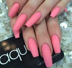 cool, fabulous, fashion, girly, goals, good, hands, long, nail polish, nails, photography, pink, random, sharp, style, stylish, summer, swag, want