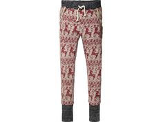 Scotch R'belle worked out sweat pants with reindeer print   www.eb-vloed.nl