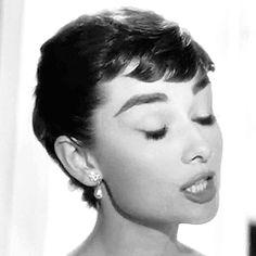 theniftyfifties:Audrey Hepburn in motion
