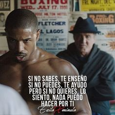 Business Motivation, Sport Motivation, Jiu Jitsu Frases, Boxing Quotes, Millionaire Quotes, Rocky Balboa, Sylvester Stallone, Spanish Quotes, Words Quotes