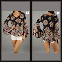 In The Moment Top – The Purple Paisley Boutique