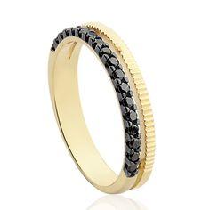 Anel Ouro Amarelo e Diamantes Simetria                                                                                                                                                                                 Mais