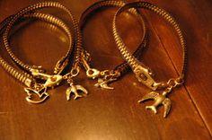 DIY zipper bracelets