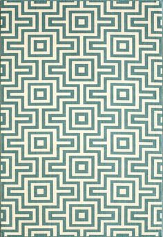 <p>Bold and exciting colors and patterns allow trend-conscious customers to create their ultimate indoor/outdoor oasis. Baja thrives on simple graphic patterns with a refreshing twist of runway fashion and lively color palettes. Machine-made in Egypt of 100% polypropylene and approved for use outdoors.</p>