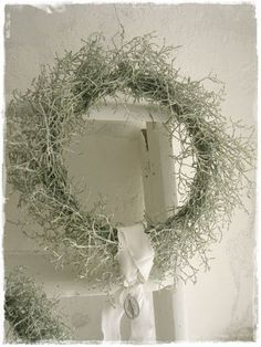 Do it yourself also known as DIY is the method of building modifying or repairing something without the aid of experts or professionals Christmas Door Wreaths, Cottage Christmas, Christmas Colors, Rustic Christmas, Winter Christmas, Moss Wreath, Grapevine Wreath, Dollar Store Christmas, Deco Floral
