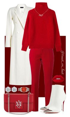 Holiday Szn! by smackthatash on Polyvore featuring Joseph, Gucci, Christian Louboutin, Vanessa Bruno, Christian Dior, Alexander McQueen and Lime Crime. NYCs Russian Tea Room outfit!