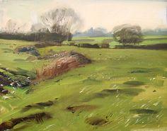 Fields near Withybrook  by RUPERT CORDEUX