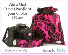This great giveaway is sponsored by MOD Camera Accessories and hosted by Mom Does Reviews and friends. If you love your camera, you want to keep it safe!  You need MOD Camera Accessories.  The straps and bag are amazingly soft and colorful. &...