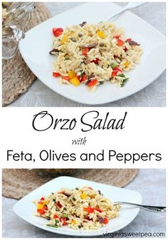 Orzo Salad with Feta