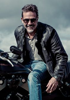 Jeffrey Dean Morgan - I am both terrified and turned out when this silver fox is on the screen. TWD
