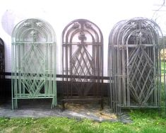 Related image Wrought Iron Trellis, Wall Trellis, Arch, Outdoor Structures, Garden, Image, Longbow, Garten, Arches