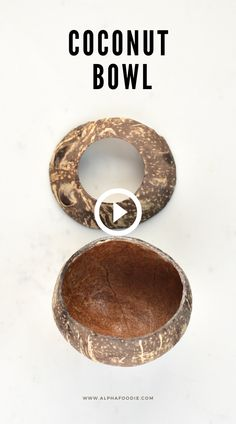 Diy Crafts For Home Decor, Diy Crafts Hacks, Fun Crafts, Diys, House Plants Decor, Plant Decor, Coconut Shell Crafts, Coconut Bowl, Diy Projects To Try