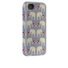 elephant and umbrella iphone case