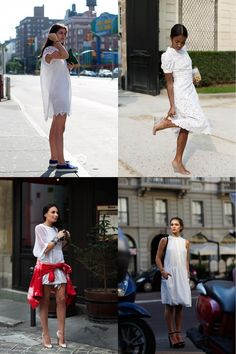 If You're Thinking About…. Little White Dress