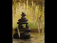 Zen Pond Step by Step Acrylic Painting on Canvas for Beginners. Link download: http://www.getlinkyoutube.com/watch?v=uO3VOlbe-h8