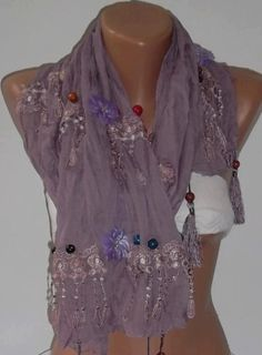 pieced lace scarves - Google Search