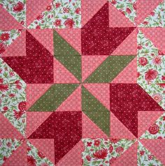 Starwood Quilter: Four Winds Quilt Block