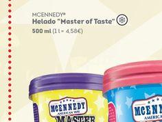 """McEnnedy®"" Helado ""Master of Taste"""