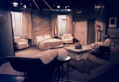 Hotel room set design by Ron Olsen Room Set, Olsen, Set Design, Bed, Stage, Homes, Furniture, Home Decor, Stage Design