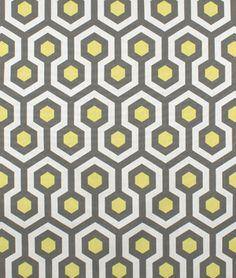 Premier-Prints Magna Lemon Macon Fabric