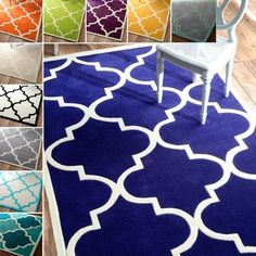 nuLOOM Handmade Luna Moroccan Trellis Rug (7'6 x 9'6) - Overstock™ Shopping - Great Deals on Nuloom 7x9 - 10x14 Rugs
