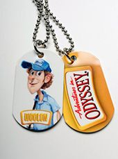 """""""The Odyssey Scoop"""" - Merchandise: """"Wooton Dog Tag"""" Jess Harnell, Drama For Kids, Adventures In Odyssey, Great Memories, Dog Tags, Growing Up, Random, Casual"""
