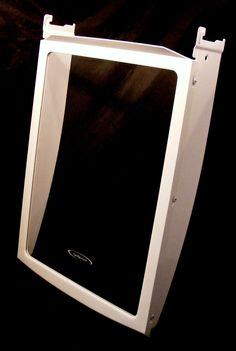 WR71X10575 GE Refrigerator Cantilever Glass Shelf