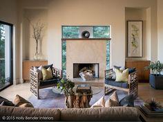San Francisco Bay Area Interior Designer | Holly Bender | Happy Valley Modern Estate