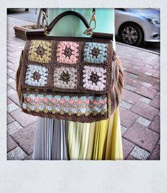 iconjane street style dolce gabbana sicily crochet bag