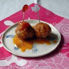 Finger food:polpettine!!