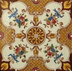 Edwardian Ceramic Tile