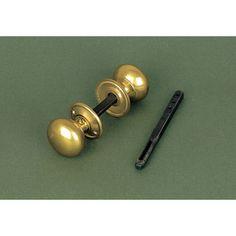 Period Cottage Door Knob Handles in Brass from Cheshire Hardware   Door handles & door accessories   Cheshire Hardware