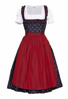 Absolutely need this in my costume bag!  Dirndl von Lena Hoschek - Die schönsten Dirndl für 2012