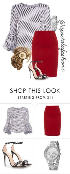 """Apostolic Fashions #1733"" by apostolicfashions ❤ liked on Polyvore featuring Milly, Paule Ka and Gucci"