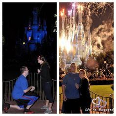 Our Disney engagement :)